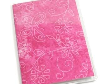 SALE Passport Cover Butterflies & Flowers