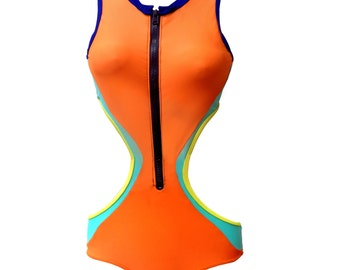 Sexy, Revamped Cutout Surf Wetsuit