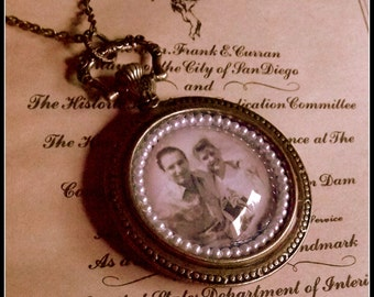 Celebration of Life - Custom Portrait Necklace