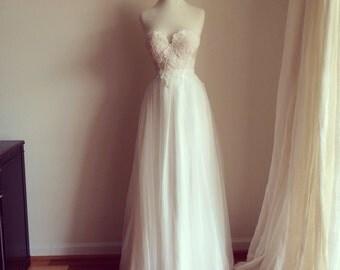 Alice in wonderland Wedding Dress