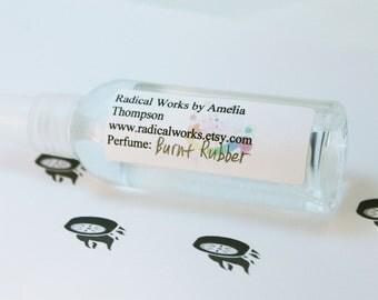 Burnt Rubber Perfume Spray - Cologne - Perfume Bottle - Natural Perfume - Perfume Atomizer - Perfume Samples