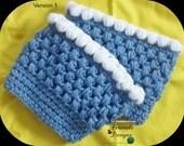 Crochet Pattern: Puff Boot Cuffs
