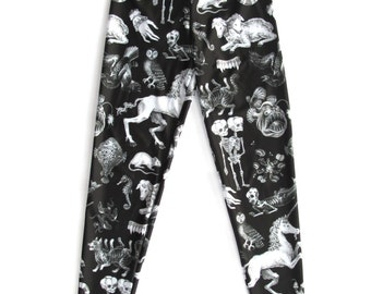 Freak of Nature Print Leggings in Black