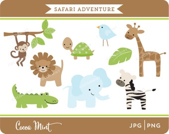 Safari Adventure Clip Art