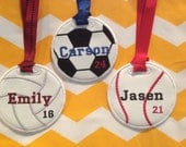 Personalized Sports Bag Tags