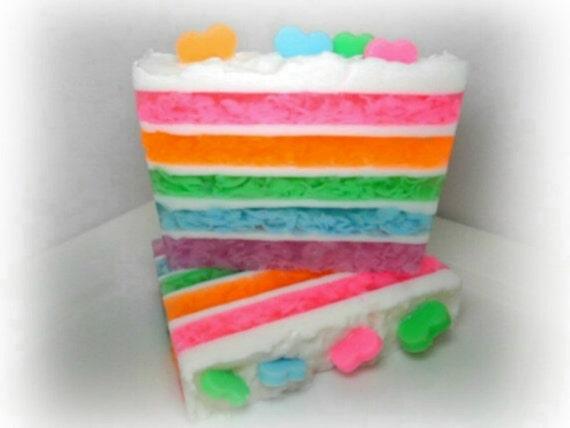 Pastel Cake Soap