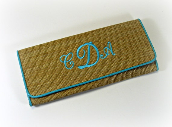 Flat Envelope Clutch with Chain Handle