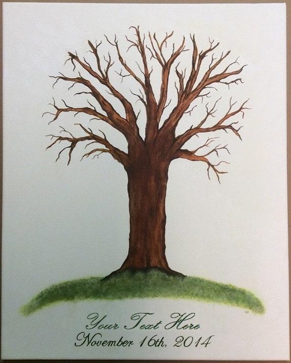 baby shower fingerprint tree thumb print guest book for shower finger