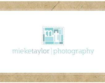 SALE PreMade Logo Design - PreDesigned Logo - Custom Logo - Vector Logo - OOAK Logo -  MIEKE Logo - Geometric Logo - Monogram Logo