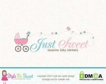 newborn logo design baby logo design birth logo design doula logo design graphic design premade logo design photography logo branding logo
