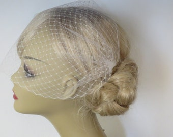 Wedding bridal  Veils Double layer Birdcage Veil  Bandeau Style  wedding veil bridal veil wedding veils Birdcage veil