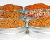 New ~ All American BBQ in 61mm tins - 6 mouth watering rubs - excellent grilling gift for the BBQ lover - FEATURED: Huffingtonpost.com