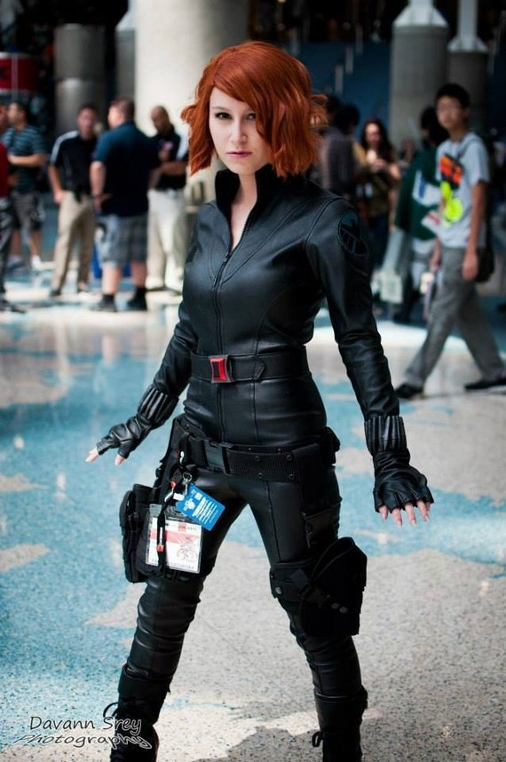 black widow costume Woman