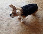 Pembroke Corgi knitted dog