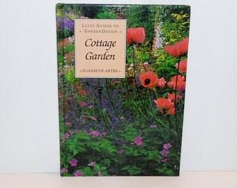 """Gardening Book """"Cottage Garden"""" 1992 Color Photos"""