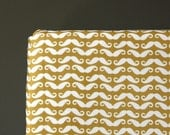 WHITE MUSTACHES - crib sheet - baby boy nursery - crib fitted sheet - changing pad cover