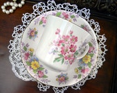 MISMATCHED Cup and Saucer - Bone China Mixed Makers 10745