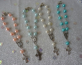 Mini Rosaries with clasp (Package of 20)