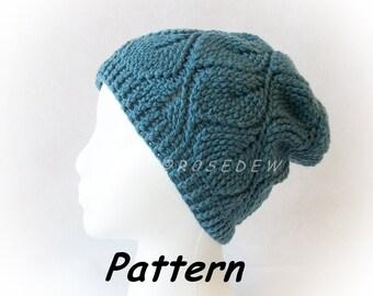 Instant Download to PDF CROCHET Pattern: Autumn Leaf Hat
