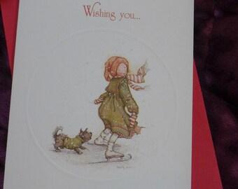 1979 Holly Hobbie Chirtsmas Card