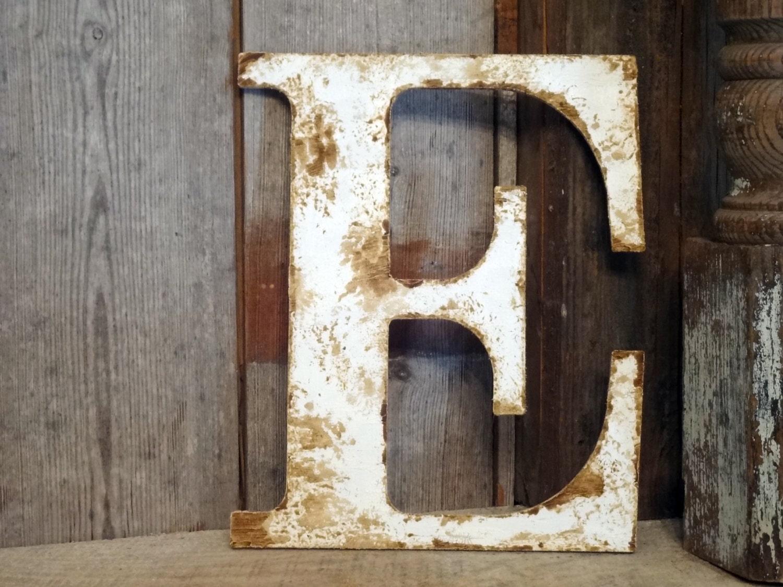Rustic Letter Home Decor A B C D E F G H I J K L M N O P Q R S