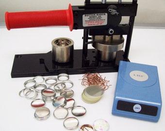 tecre button maker instructions