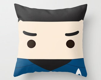 Star Trek, pillow, spock, plush