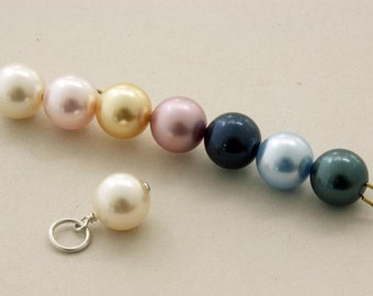 Add a personal touch ... CRYSTALLIZED™- Swarovski Elements Pearl of your color choice