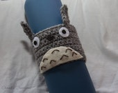 RESERVED for japnsUsagi -- Totoro Crocheted Cup Cozy/Sleeve