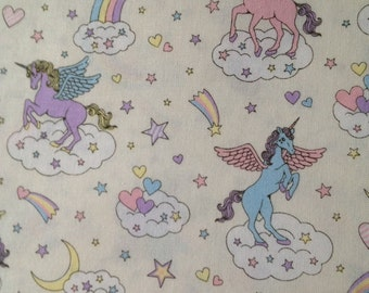 Fairy Tales fantasy Unicorn printed Japanese