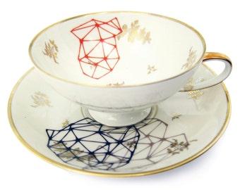 diamond porcelain stickers