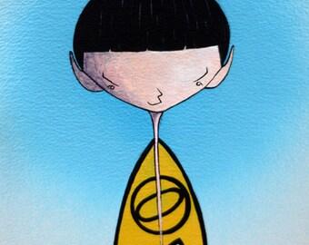 Kolinahr - Original illustration for Trekkies