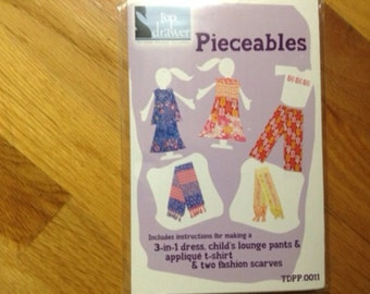 Girls Clothing Pattern Kit size 6