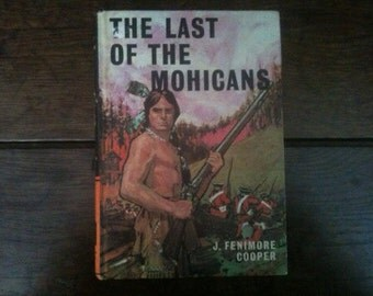 Vintage English The Last of the Mohicans Bancroft Classics hardback book 1975 / English Shop