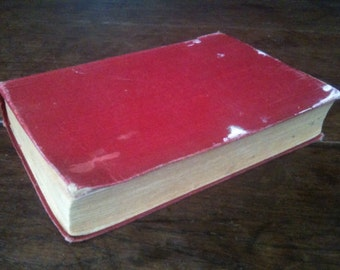 Vintage English The Cathedral Hardback Book circa 1946 / English Shop