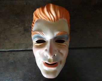 Vintage French movie film musical famous stars starlets fancy dress mask circa 1950/60's / English Shop