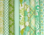 Up Parasol Fat Quarter Bundle of 9 by Heather Bailey for Free Spirit