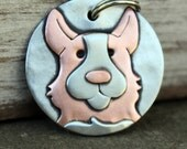 Custom Dog Tag - Dog ID Tag - Pet Tag - Dog Tags Custom-Corgi - breed tag or key chain