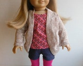 18 inch dolls fits American Girl - Trendy 4 Piece Outfit