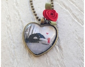 Little Red Riding Hood Fairytale Valentines Necklace