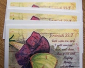 Blank Note Cards, Watercolor Notecards, Scripture Cards, Inspirational Cards, Christian Note Card, NoteCard, Stationary, Butterfly Note Card