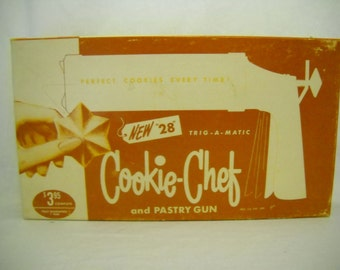 Vintage Pastry Gun Cookie-Chef/Cookie Maker/Pastry Gun
