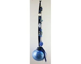 Seahorse Wish Ball, Suncatcher, Friendship Ball, Witch Ball, Window Ornament