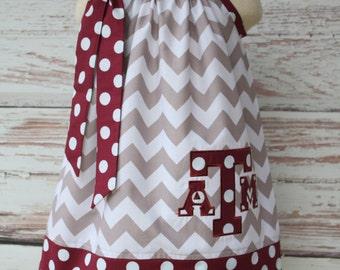 Texas A & M Pillowcase Dress