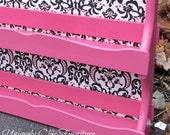 Hot Pink Shelf~Nail Polish Organizer
