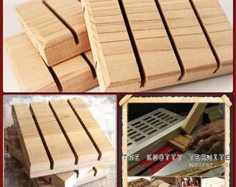 Soap Dish || Natural Wood Soap Saver || ONE Cedar Natural Wood Spa Soap Deck || Handmade Soap Raft || Simple soap deck design