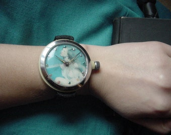Vintage - Super Rare Mechanical Hand Watch - Freaking Dope