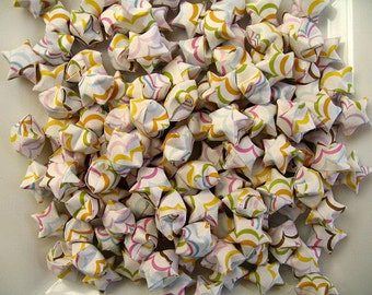 100pcs Lucky Stars Origami Lucky Star Origami Stars, Handmade, Paper Goods 175