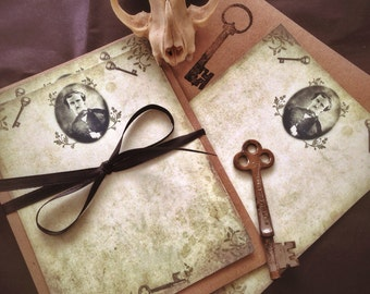 Edgar Allan Poe - Eloquent Note Card Set with Envelopes