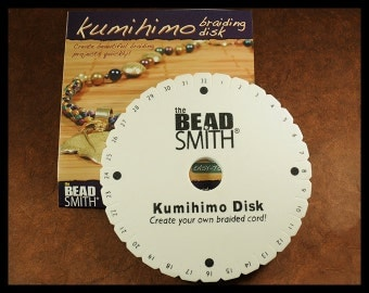 Kumihimo 6 inch Round Disc - Includes Instructions